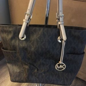Michael Kors large brown handbag
